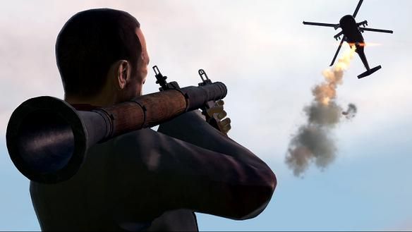 Photo of Cascades dans le célèbre jeu GTA IV