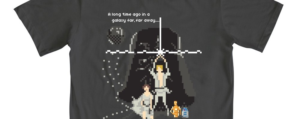 Photo of Un t-shirt 8bit à l'effigie de Star Wars