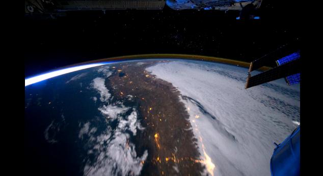 time lapse planete