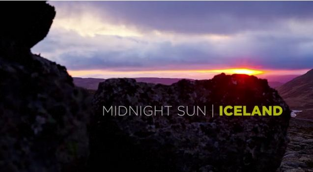 Photo of Time lapse de l'Islande – Midnight Sun