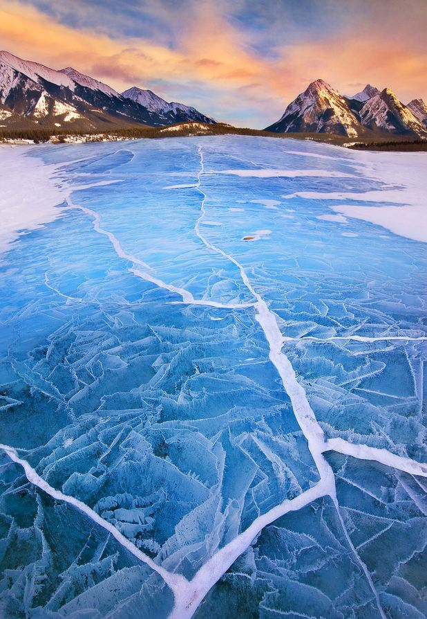 Photo of Photo du jour #33 : Lake Abraham in Winter