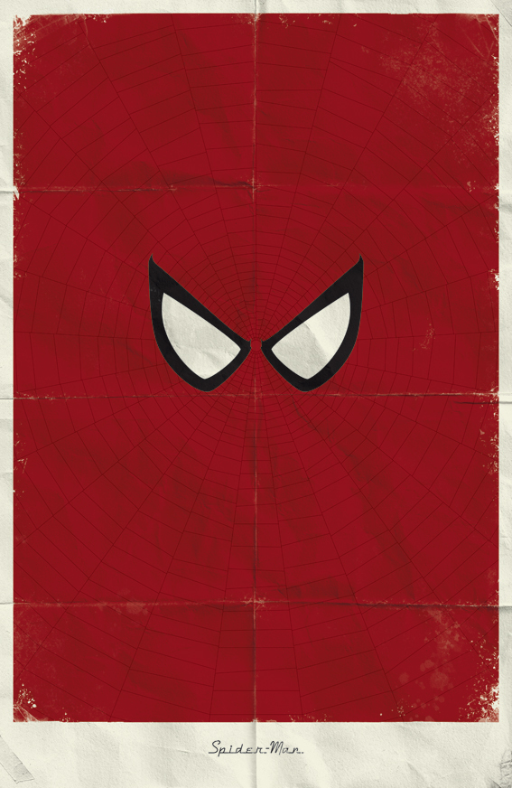 Photo of Affiches minimalistes Marvel réalisée par Marko Manev