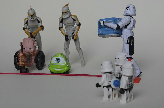Photo of Vie de stormtroopers de Star Wars résumées en figurines