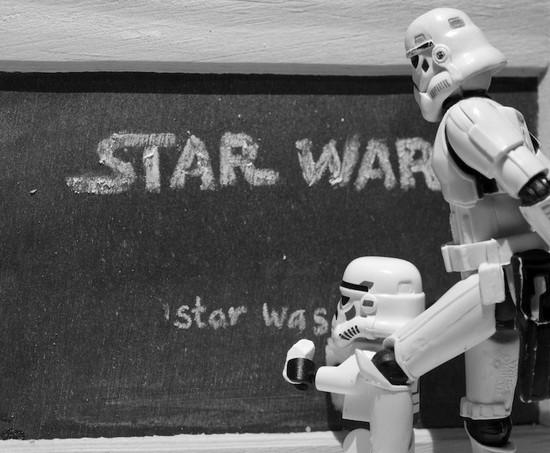 Spelling Star Wars
