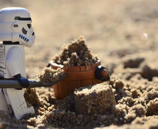 A true work for a Sandtrooper