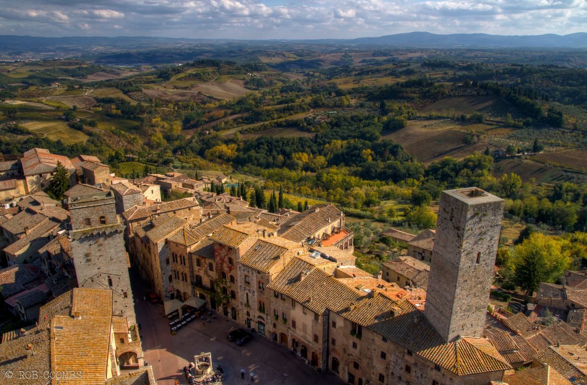 Photo of Photo du jour #26 : Tuscany from a Tower