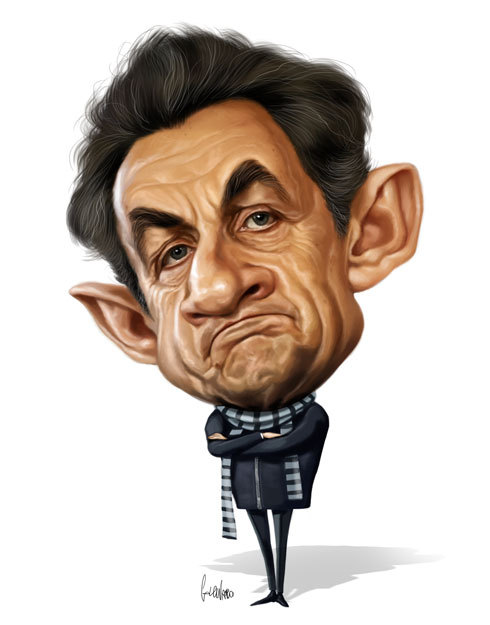 Photo of Caricatures de l'artiste Marco Calcinaro