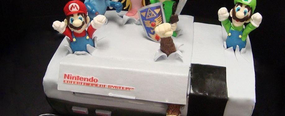 Photo of Gâteau original en forme de Nintendo NES