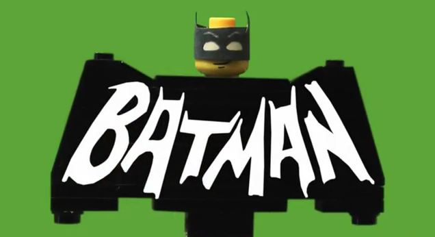 Photo of L'intro de la série Batman de 1966 recréé  en Lego