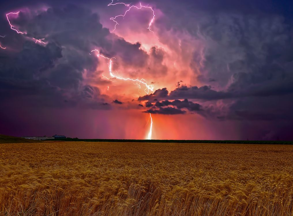 Natures power in the Prairies