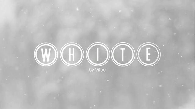 Photo of White – Vidéo pleinne de douceur sur la neige