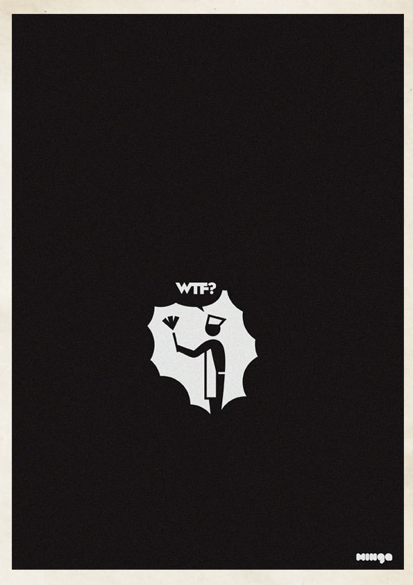 Photo of Illustrations « WTF » par le studio Minga
