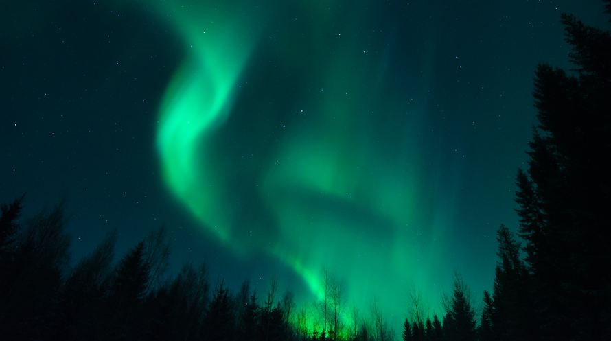 Photo of Aurora Borealis en Time lapse