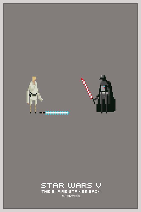 Pixel Art De Personnages De Films De Jeux Vidéo Par Michael