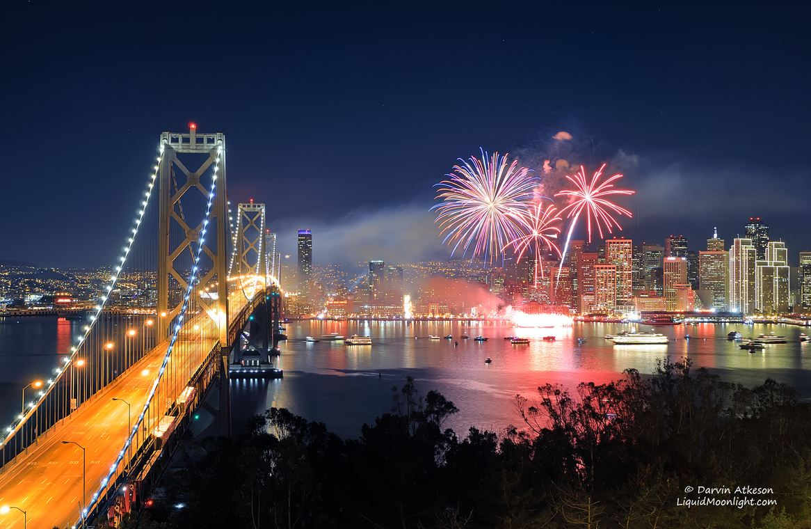 Photo of Photo du week-end #14 : San Francisco New Years Fireworks