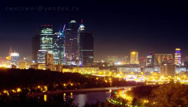 Photo of Time lapse de Moscou – Russie