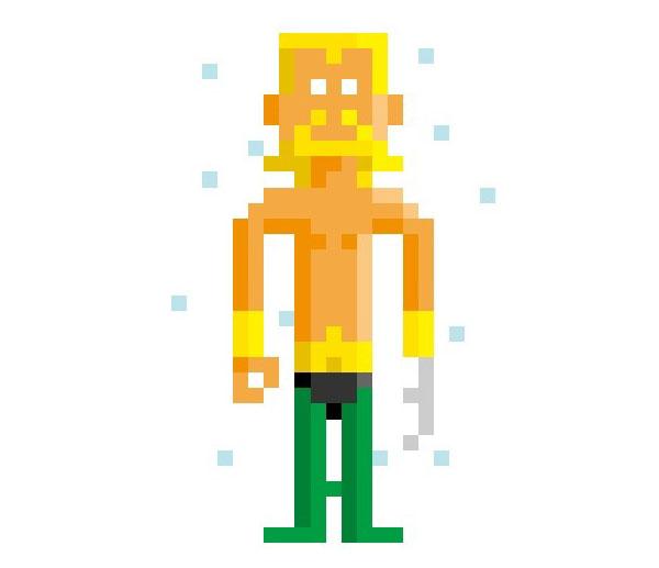 Aquaman-Woman-Pixel-Superheroes-Pahito