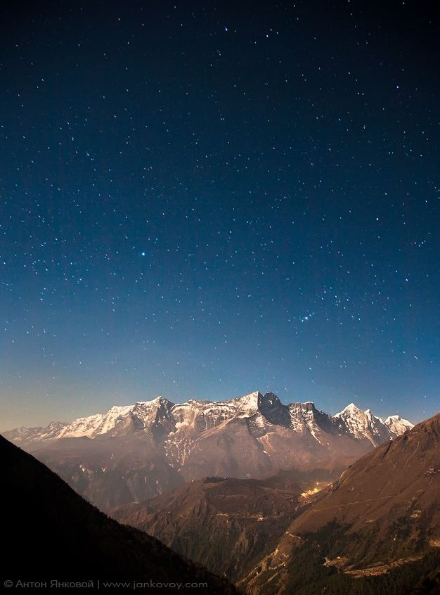 Photo of Photo du week #21 : Stars above the Himalayas