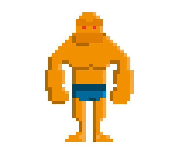 Thing-Woman-Pixel-Superheroes-Pahito