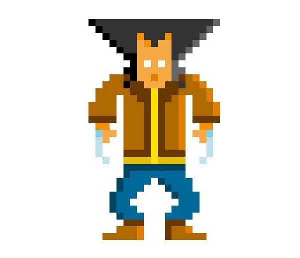 Wolverine-Woman-Pixel-Superheroes-Pahito
