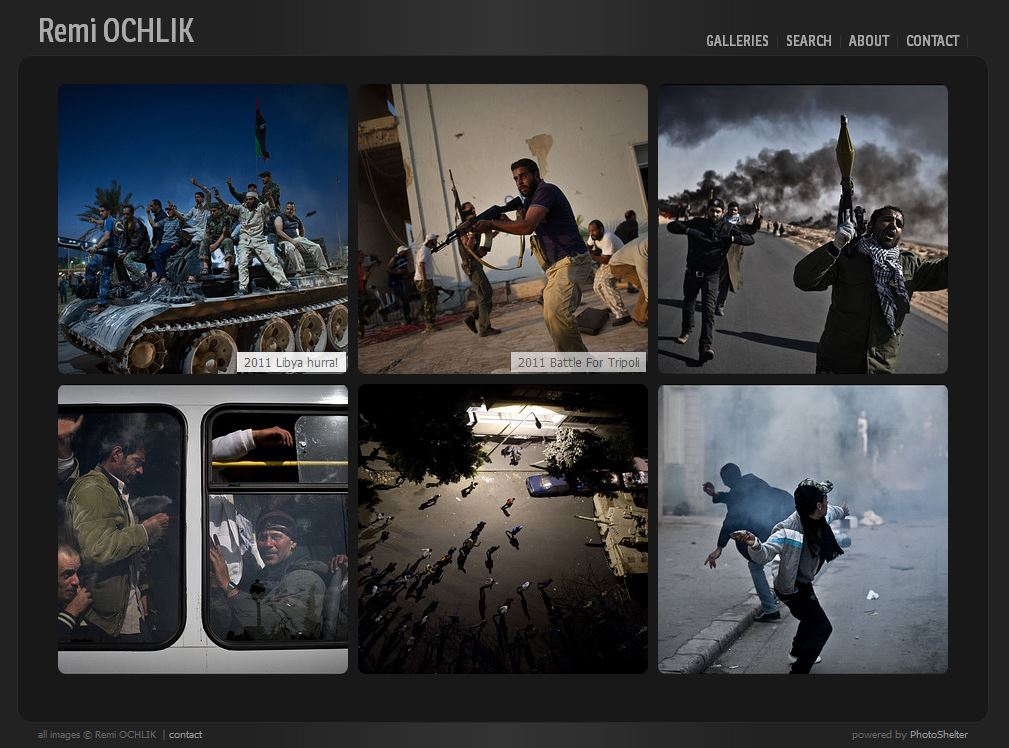 Photo of Photographies de guerre – Rémi OCHLIK