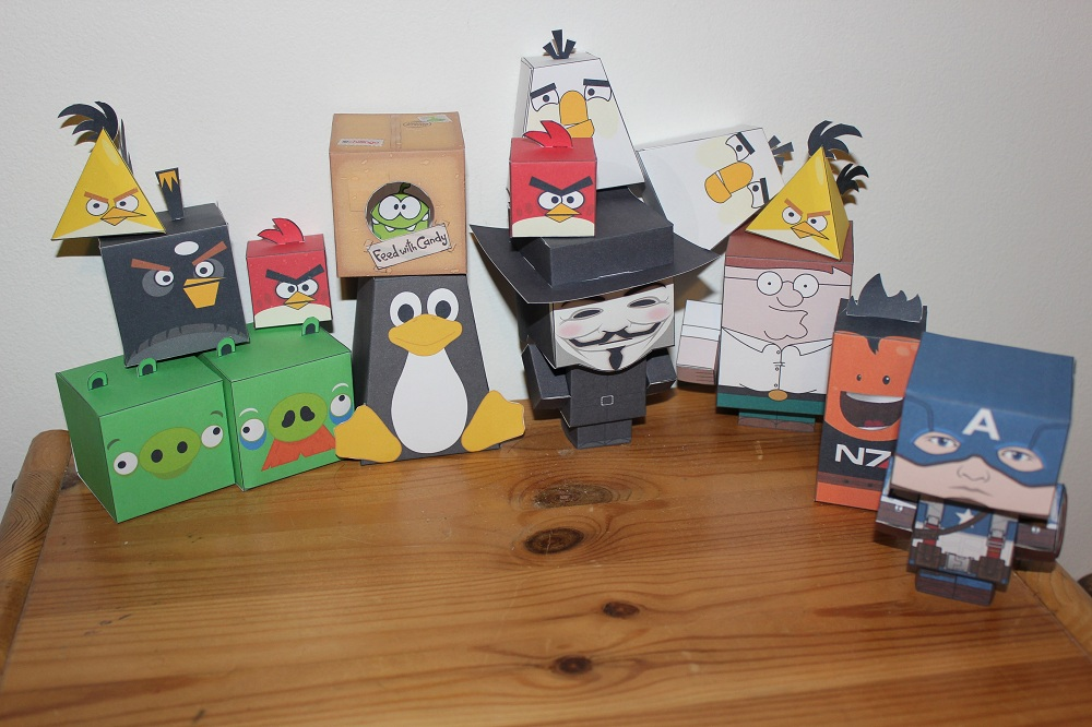 Photo of Do It Yourself – Paper Toys