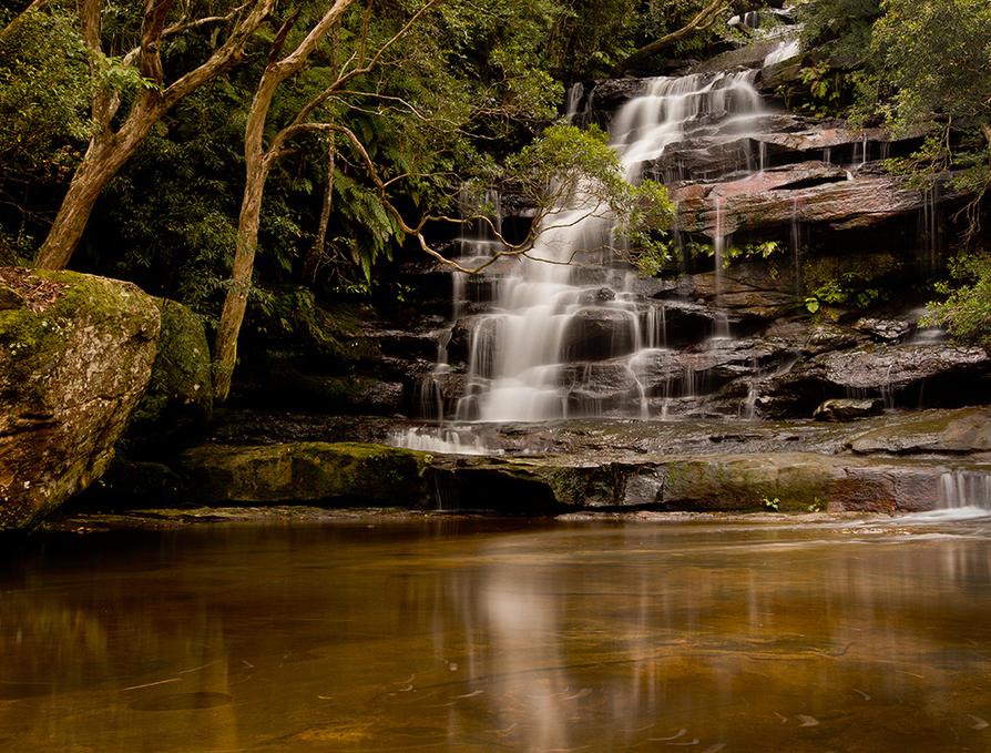 Upper Sommersby Falls