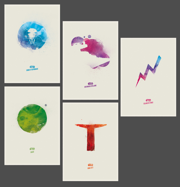 Photo of Affiches minimalistes Star Wars