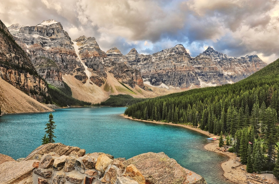 Photo of Photo du week-end #30 : Moraine Lake Storm