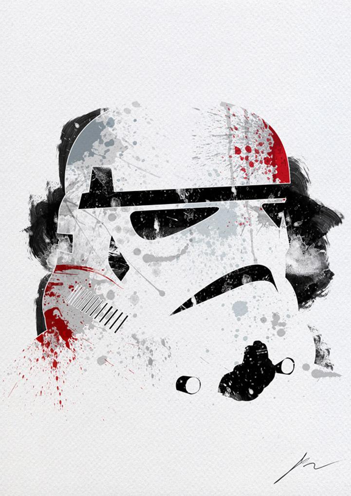 Photo of Peintures des célèbres personnages de Star Wars par Arian Noveir