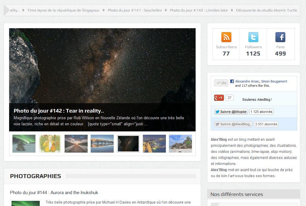 alex'blog