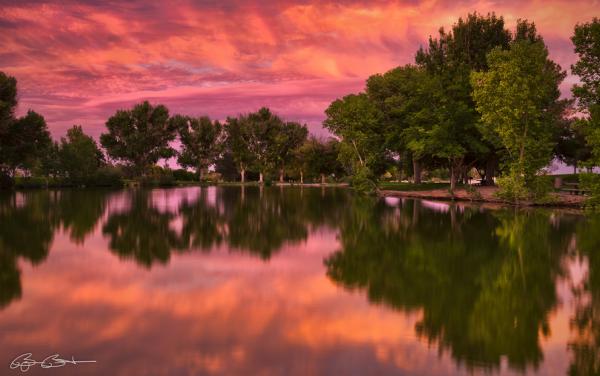 Mid Summer's Sunset