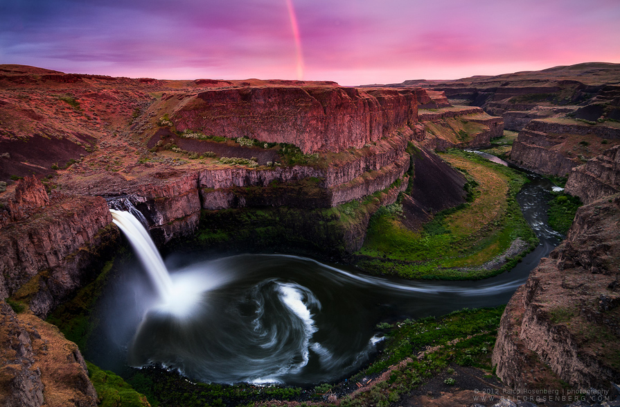 Photo of Photographie du jour #171 : Palouse falls rainbow