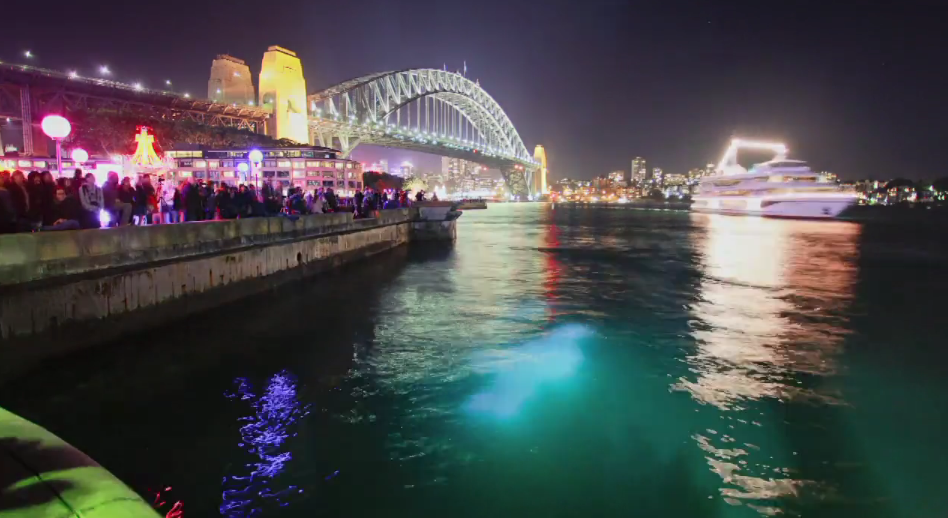 Photo of Time lapse de Sydney – Spectacle de son et lumières