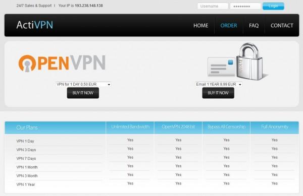 VPN : Surfez  de manière sécurisé et fiable avec ACTIVPN