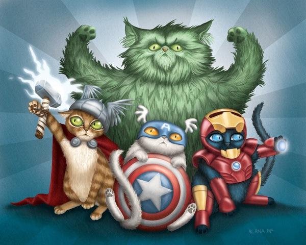 Hero-Kittens-Avengers