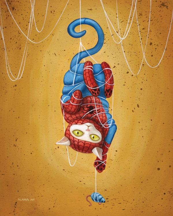 Hero-Kittens-Spiderman