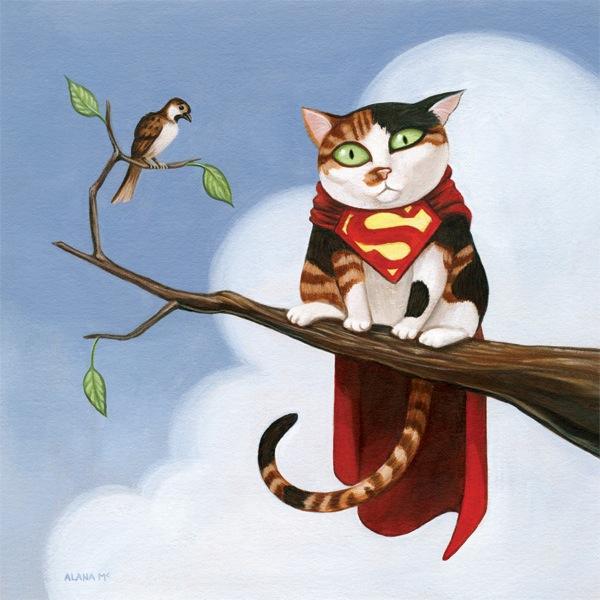 Hero-Kittens-Superman