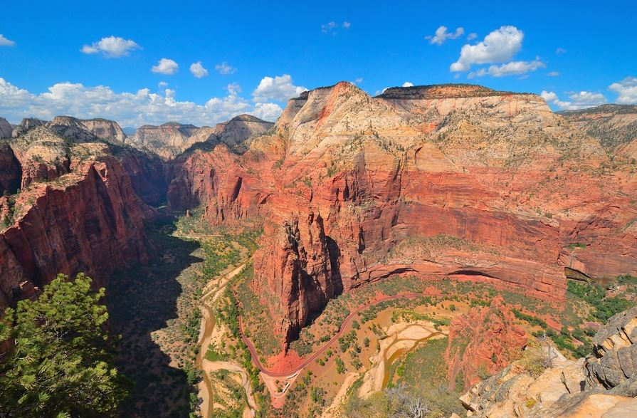 Zion Cayon - View from Angel's Landing