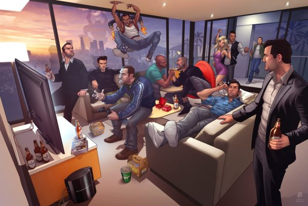 grand theft auto legends 2012 réalisé par Patrick Brown