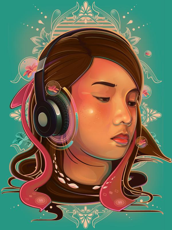 Illustrations de l'artiste Rhafael Aseo