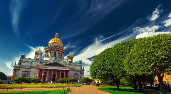 time lapse Saint Pétersbourg