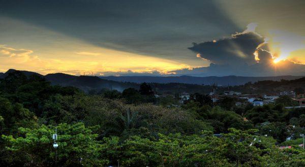 Time lapse de la Colombie