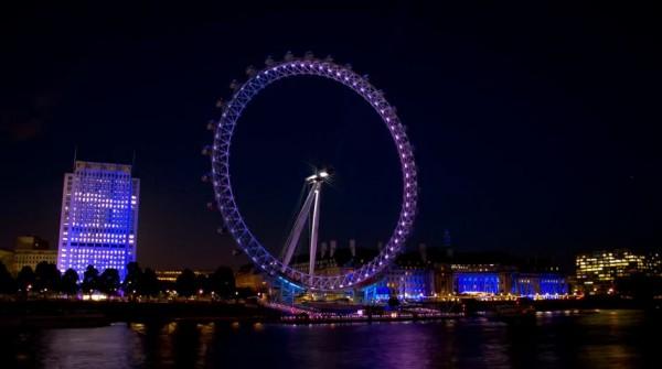 Time lapse de la ville olympique : Londres