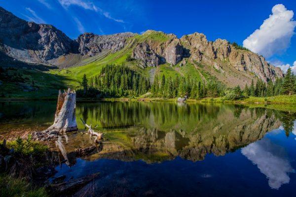 Mirror on Mountain