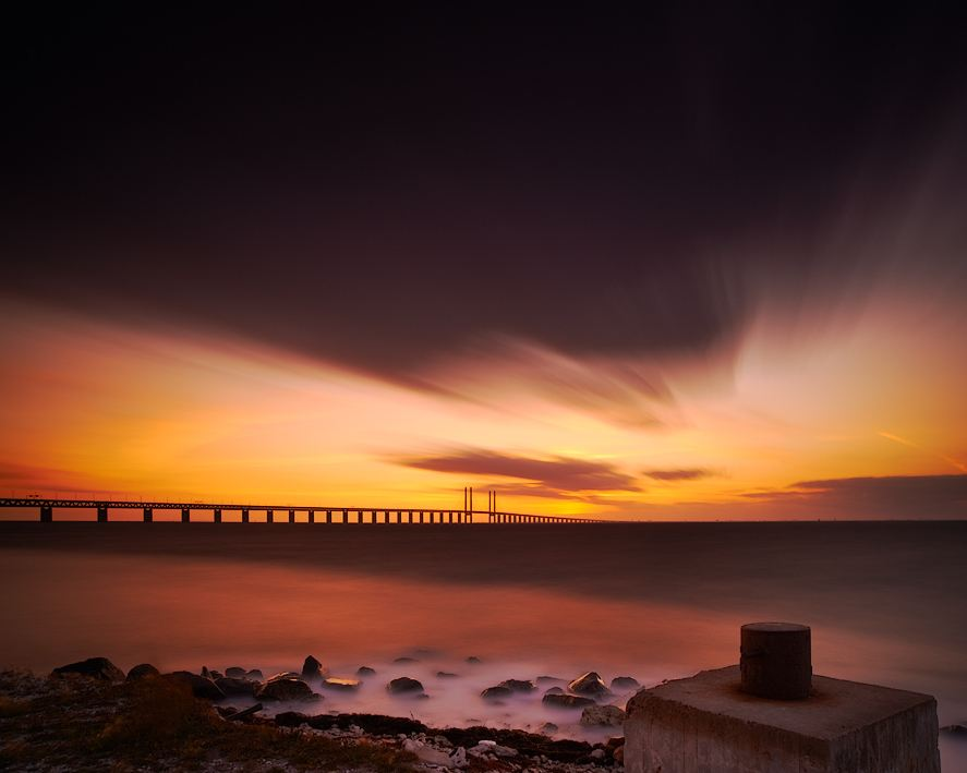 Photo of Photographie du jour #214 : Oresundbridge sunset