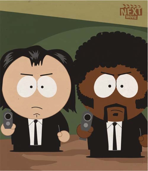Photo of Illustrations d'affiches de films à la sauce South Park