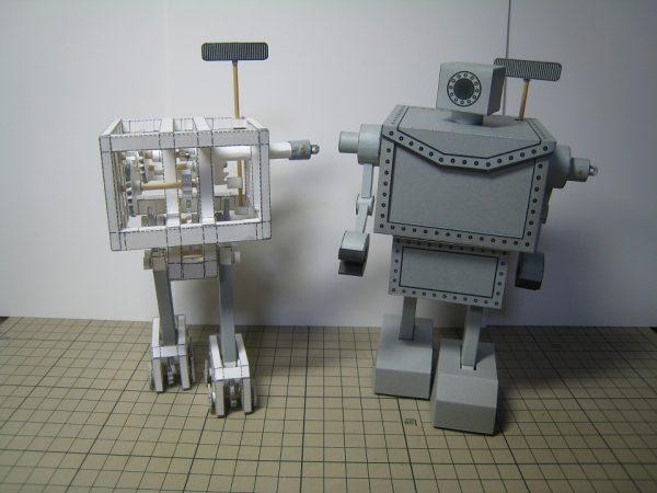 Vidéo : création d'un robot de papier - Walking paper