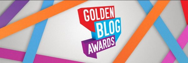 golden blog award logo