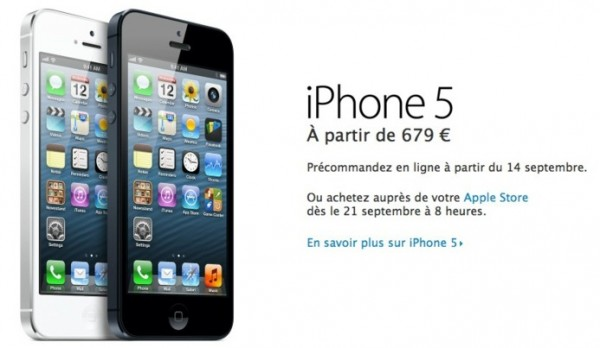 iphone 5 prix iPhone5